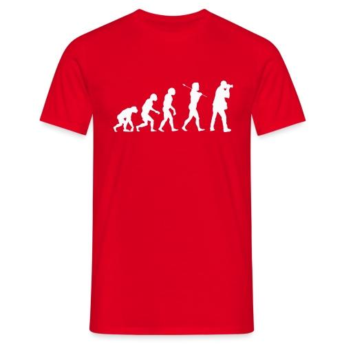 evolution white - Maglietta da uomo