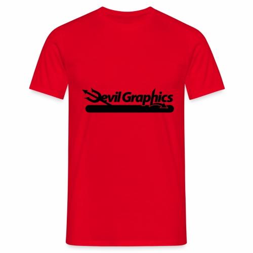 Black Devil Graphics - Männer T-Shirt