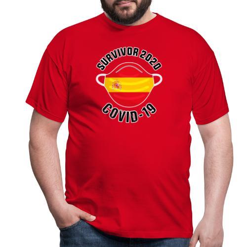 Survivor Covid-19 España - Camiseta hombre