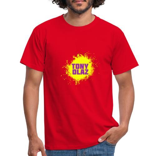 Tony olaz splash - Camiseta hombre
