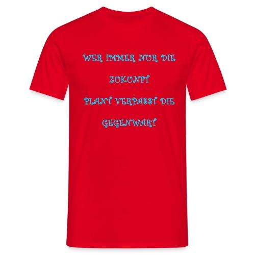 Carpe Diem 20.1 - Männer T-Shirt