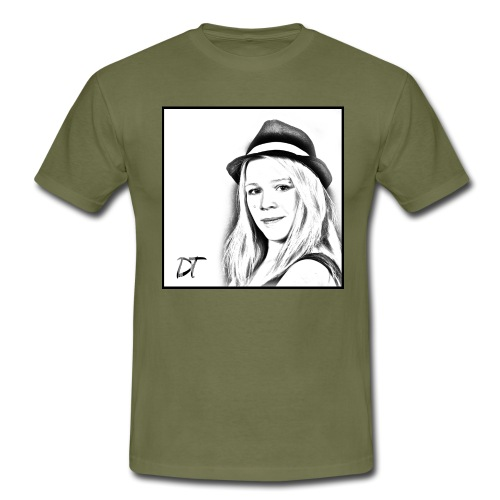 DTWear Portrait - Mannen T-shirt