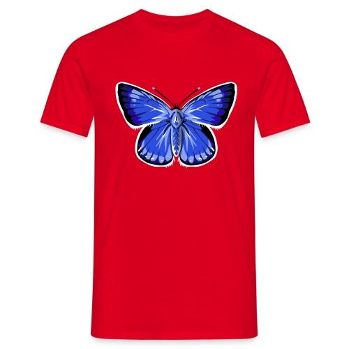 vlinder2_d - Mannen T-shirt