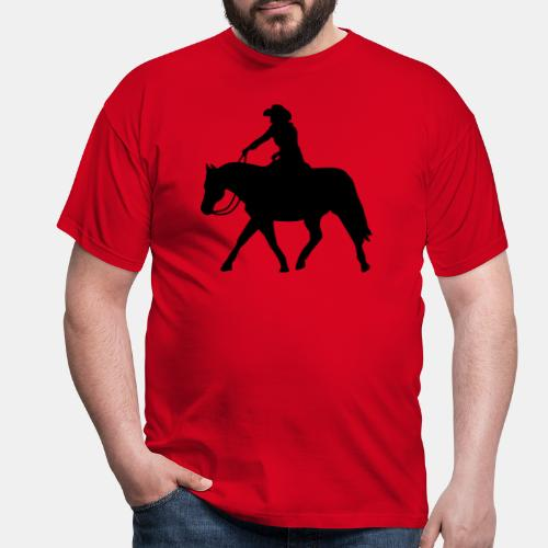 Ranch Riding extendet Trot - Männer T-Shirt