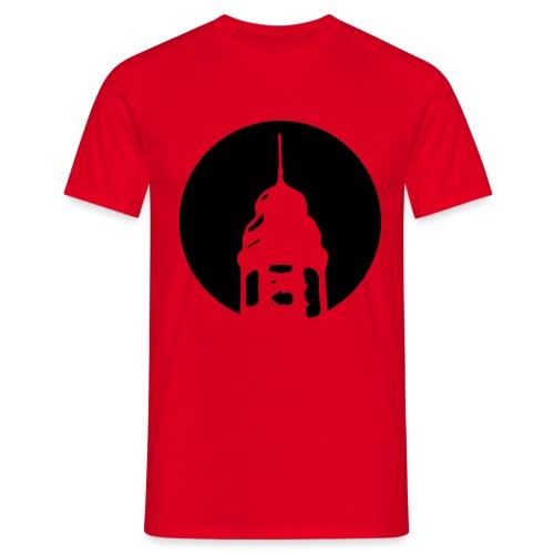Logo invertiert (Alternative Farben) - Männer T-Shirt