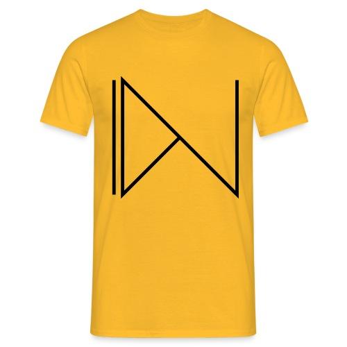 Icon on sleeve - Mannen T-shirt