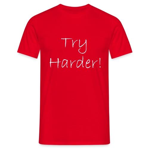 Try_Harder_W - T-shirt herr