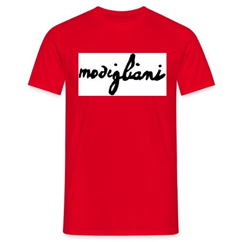 firm_white_black_big - Maglietta da uomo