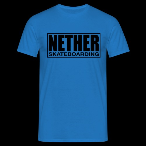 Nether Skateboarding T-shirt White - Maglietta da uomo