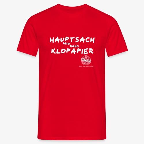 klopapier - Männer T-Shirt