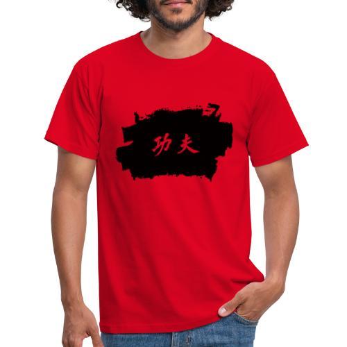Tinte Kung Fu - Männer T-Shirt