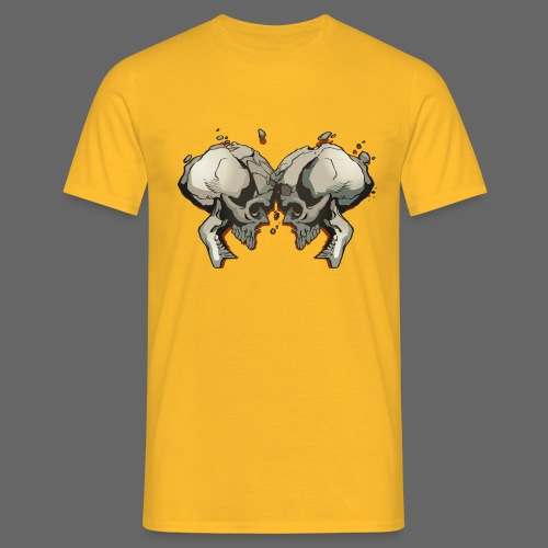 MHF_Logo_Loose-Skulls - Men's T-Shirt