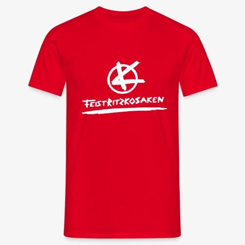 Feistritzkosaken Logo hell - Männer T-Shirt