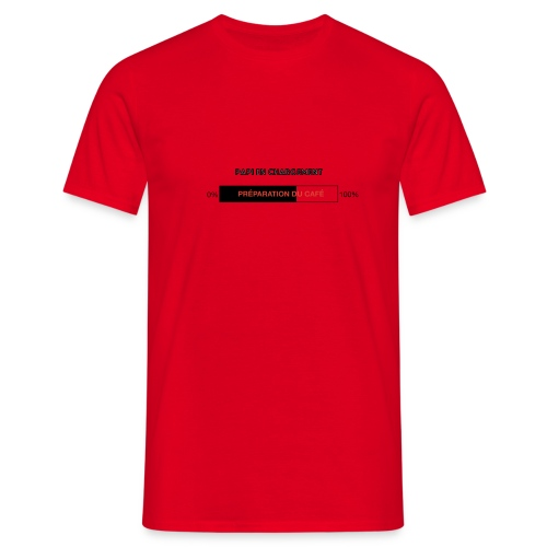 Papi en chargement - T-shirt Homme