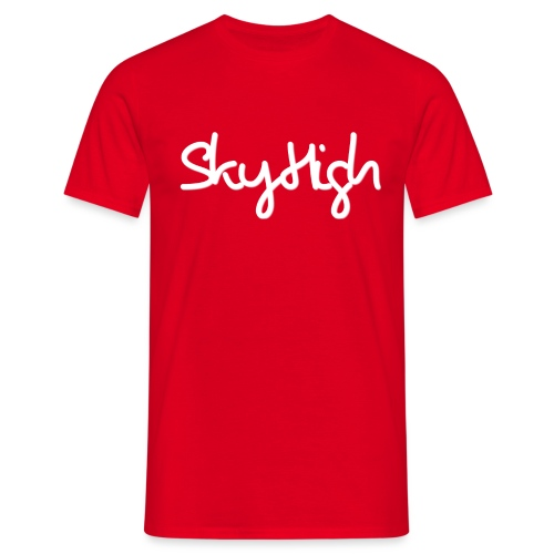 SkyHigh - Snapback - (Printed) White Letters - Men's T-Shirt