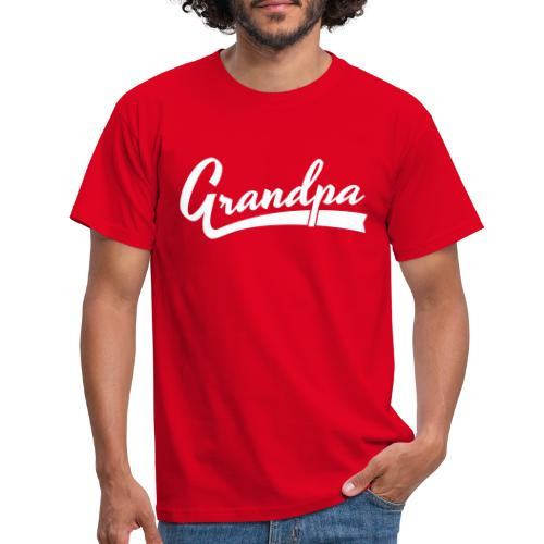 Grandpa text - Miesten t-paita