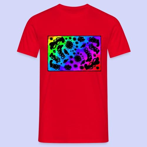 Rainbow doodle - Female shirt - Herre-T-shirt