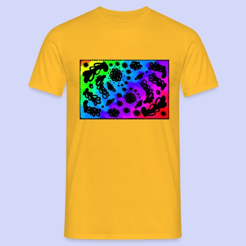 Rainbow doodle - Female shirt - Herre-T-shirt