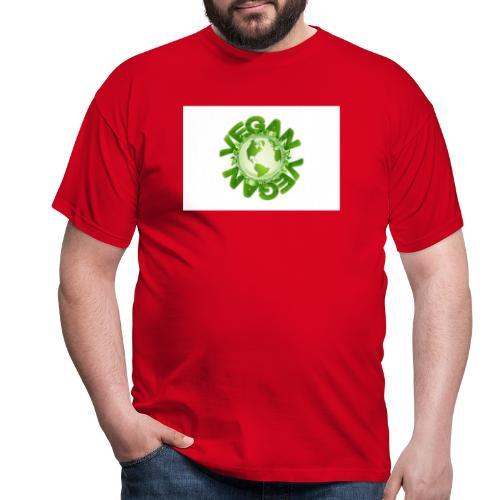 vegan - Männer T-Shirt
