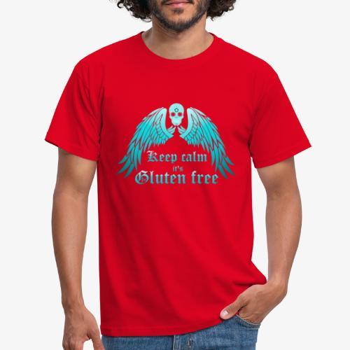 Keep calm it's Gluten free - Men's T-Shirt