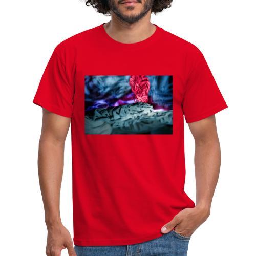 Vulkanausbruch - Männer T-Shirt