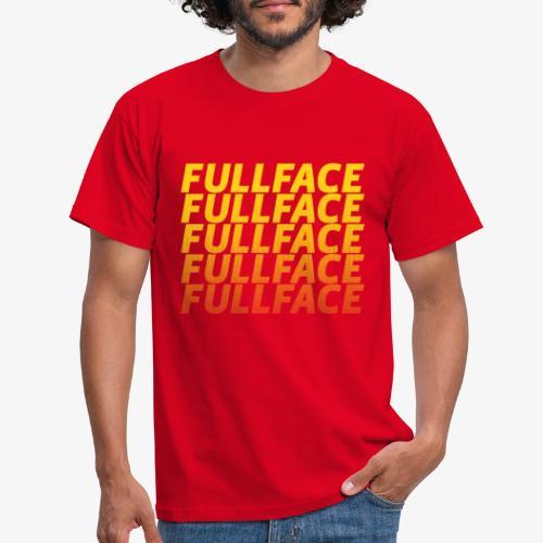 FULLFACE #1 yellow - Männer T-Shirt