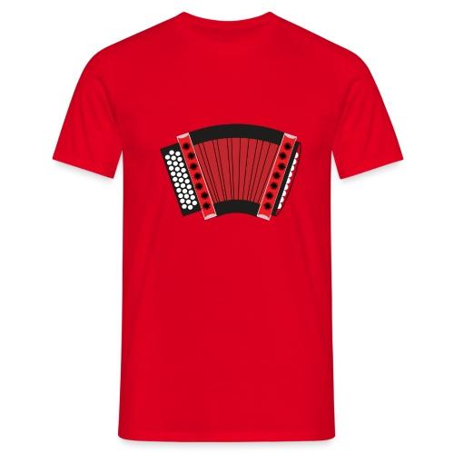 Schwyzerörgeli rot - Männer T-Shirt