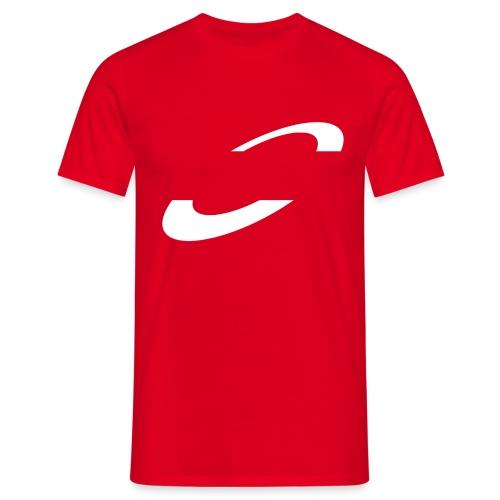 Planet Cycling Icon White - Men's T-Shirt