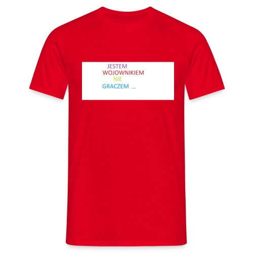 kim jesteś - Koszulka męska