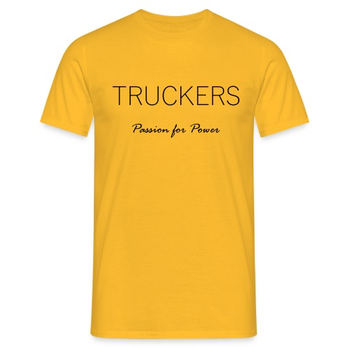 Passion for Power - Men's T-Shirt