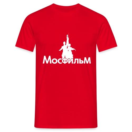 MosfilmLogoBlanco - Camiseta hombre