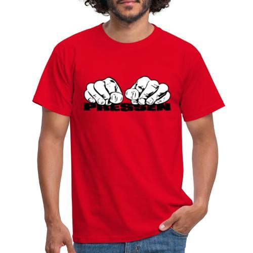 Pressen ist angesagt - Männer T-Shirt