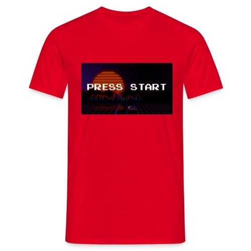 Press Start - Herre-T-shirt