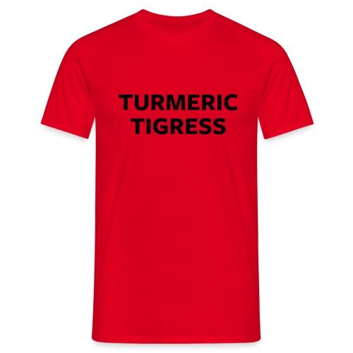 Turmeric Tigress - Men's T-Shirt