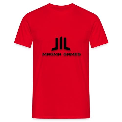 Magma Games kussen - Mannen T-shirt