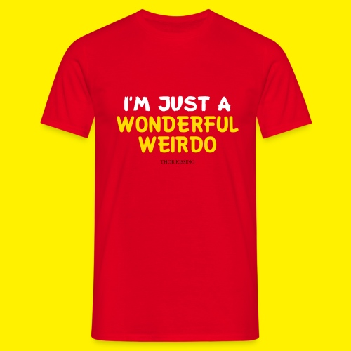The Wonderful Weirdo - Mannen T-shirt
