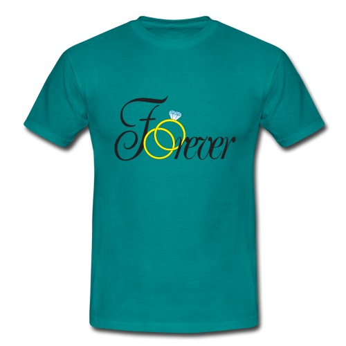Forever Ringe. Für immer mit Ringen! - Männer T-Shirt