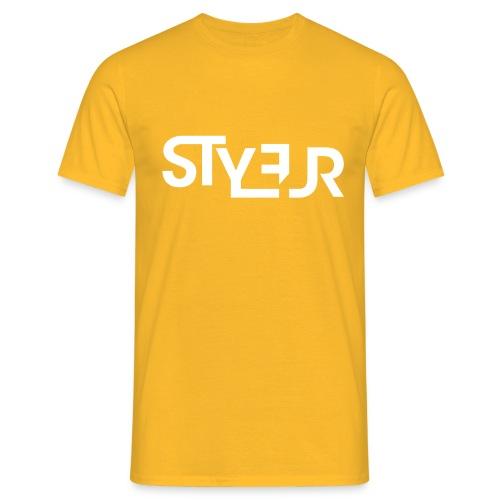 styleur logo spreadhsirt - Männer T-Shirt