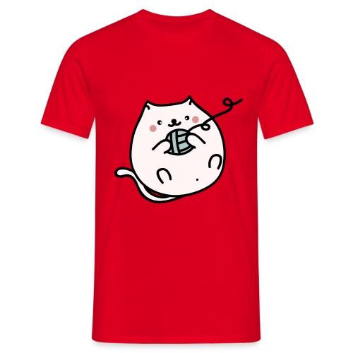 Gatito Kawaii - Camiseta hombre