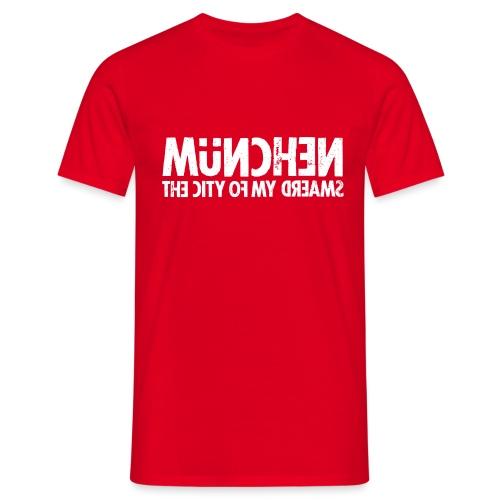 München (white oldstyle) - Männer T-Shirt