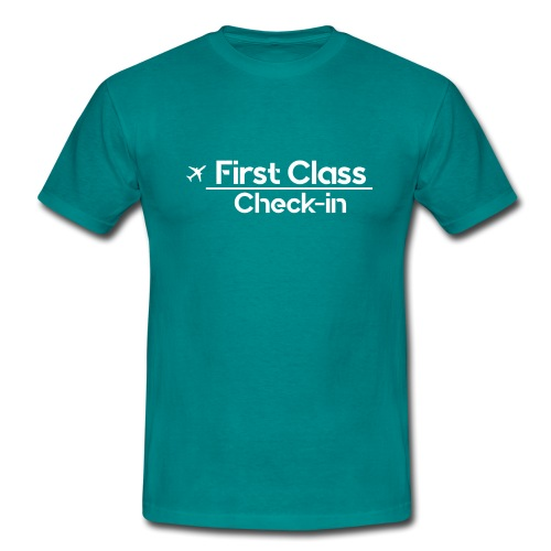 First Class Check-in - Camiseta hombre
