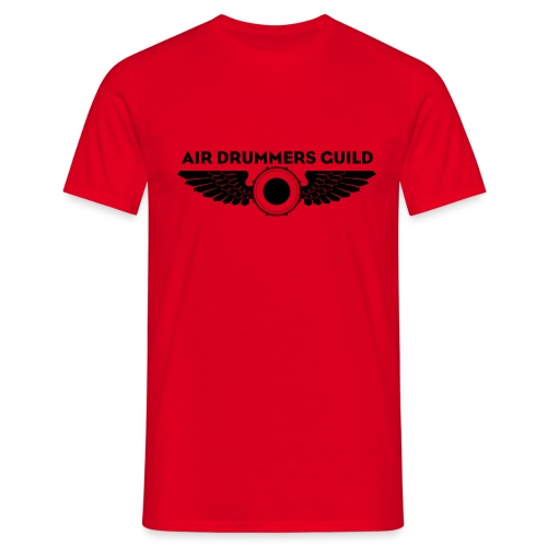 ADG Drum'n'Wings Emblem - Men's T-Shirt