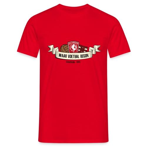 waar voetbal begon - Mannen T-shirt
