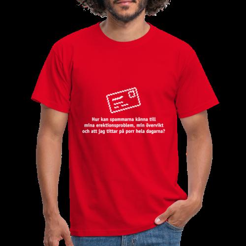 Spammarna - T-shirt herr