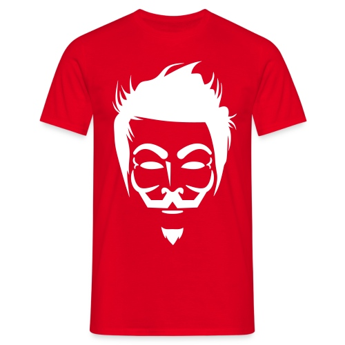 Anonymous Hipster - T-shirt Homme