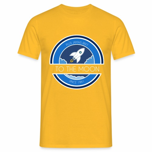CryptoLoco - To the MOON ! - T-shirt Homme