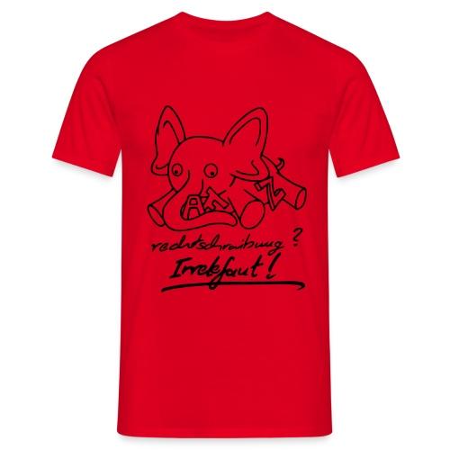 Irrelefant 1 - Männer T-Shirt