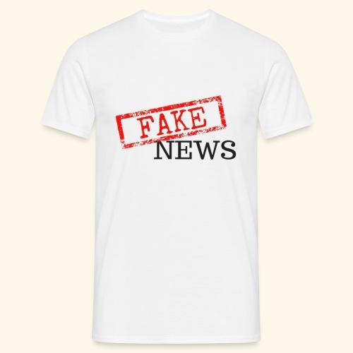 fake news - Men's T-Shirt