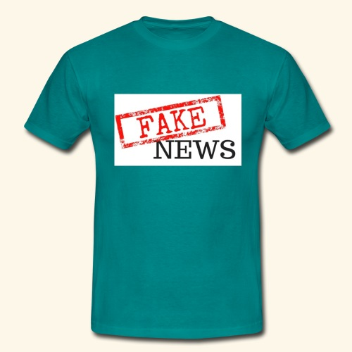 fake news - Men's T-Shirt