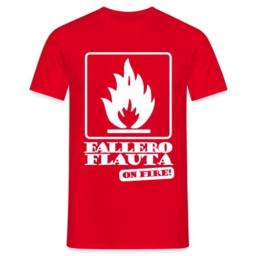 falleroflauta Camisetas - Camiseta hombre